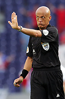 Fotball, 1. juli 2004, Tsjekkia - Hellas, EM semifinale, Euro 2004, Schiedsrichter Pierluigi Collina (ITA)