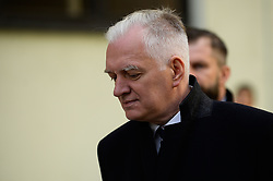 October 4, 2018 - Krakow, Poland - Jaroslaw Gowin, the Minister of Science and Higher Education attends the Inauguration of the 100th academic year at AGH University of Science and Technology. (Credit Image: © Omar Marques/SOPA Images via ZUMA Wire)