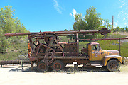 Well Pulling Rig on Display at the Olinda Oil Museum