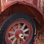 Wood Spoke Wheel International Truck - Motor Transport Museum - Campo, CA
