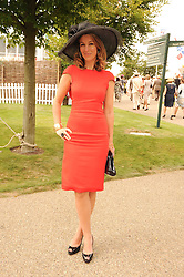 Danielle Eisenberg at the third day of the 2010 Glorious Goodwood racing festival at Goodwood Racecourse, Chichester, West Sussex on 29th July 2010.
