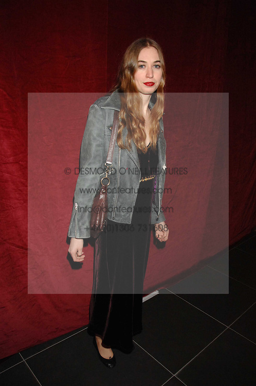 ANOUSKA GERHAUSER daughter of Tamara Beckwith at a party to celebrate the opening of the new H&M store at 234 Regent Street, London on 13th February 2008.<br /><br />NON EXCLUSIVE - WORLD RIGHTS