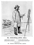 Mr. Augustus John, A.R.A. Mr Punch's Personalities. - LXXXIX.
