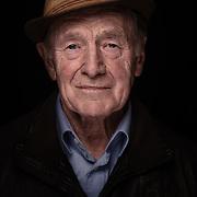 Portrait eines 90 jährigen Mannes