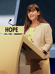 SNP Spring Conference, Sunday 28th April 2019<br /> <br /> Pictured: Clare Haughey MSP<br /> <br /> Alex Todd   Edinburgh Elite media