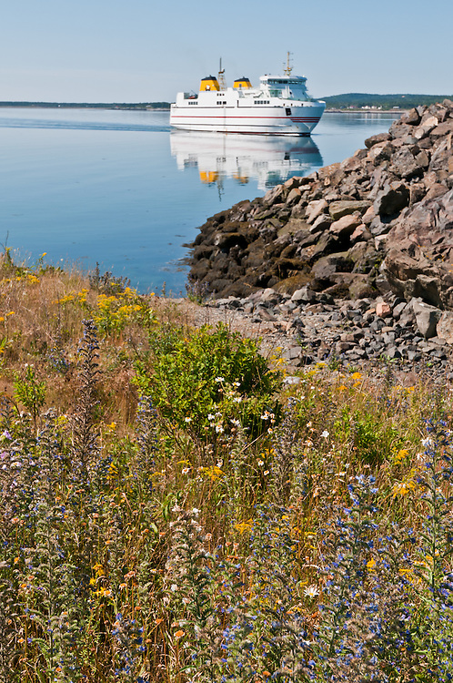 The ferry from Grand Manan Island to Blacks Harbour, New Brunswick, Canada. Photo by William Drumm.