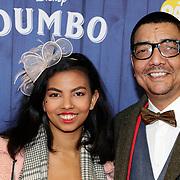 NLD/Amsterdams/20190326 - Filmpremiere Dumbo, Jorgen Raymann en dochter