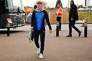 Wimbledon midfielder Alfie Egan (28) arrives during the EFL Sky Bet League 1 match between Coventry City and AFC Wimbledon at the Ricoh Arena, Coventry, England on 12 January 2019.