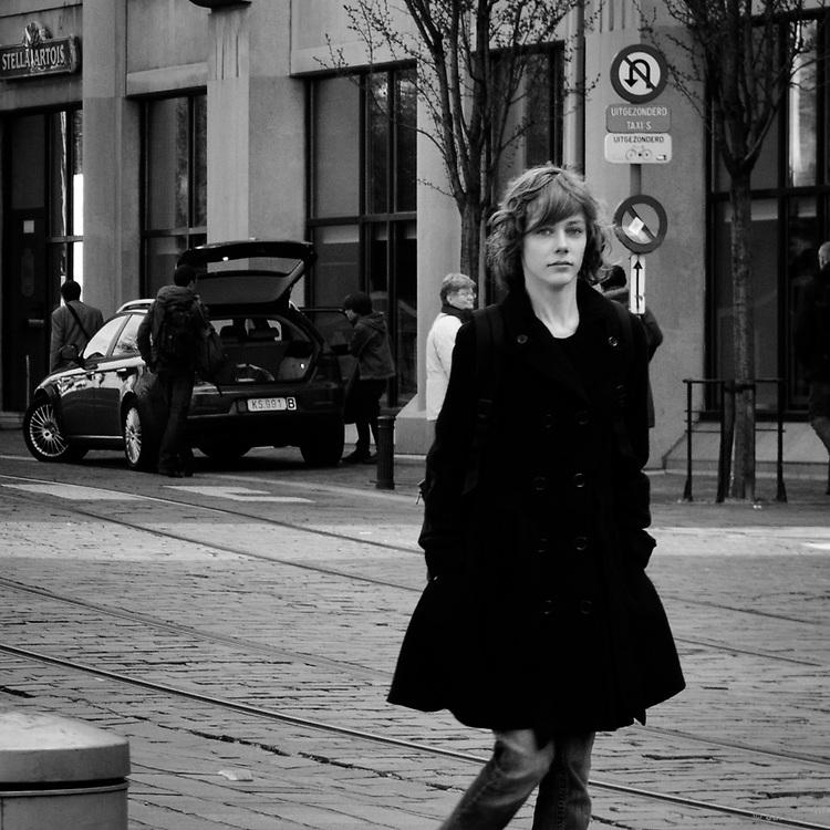 Sint-Baafsplein Cathedral Square, Ghent, Belgium, Europe
