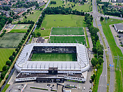 Nederland, Overijssel, Gemeente Almelo; 21–06-2020;  Erve Asito, voorheen het Polman Stadion,  thuisstadion van de Almelose voetbalclub Heracles Almelo.<br /> Erve Asito, formerly the Polman Stadium, home stadium of the Almelo football club Heracles Almelo.<br /> <br /> luchtfoto (toeslag op standaard tarieven);<br /> aerial photo (additional fee required)<br /> copyright © 2020 foto/photo Siebe Swart