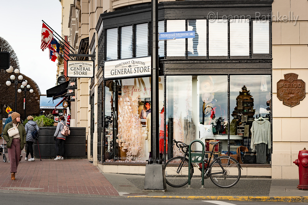 Merchant Quarters General Store in Victoria, BC Canada opens in March 2020 to sell locally crafts products such as clothing, edibles and jewellry.