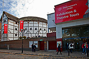 Londyn, 2009-10-23. Muzeum elżbietańskiego Globe Shakespeare Theatre.