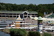 Poznan, POLAND, 20 June 2019, Thursday, General View, Boat Park, FISA World Rowing Cup II, Malta Lake Course, © Peter SPURRIER/Intersport Images,<br /> <br /> 11:41:54