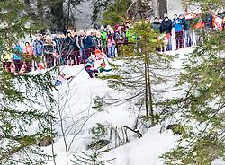 02.03.2019, Seefeld, AUT, FIS Weltmeisterschaften Ski Nordisch, Seefeld 2019, Nordische Kombination, Langlauf, Team Bewerb 4x5 km, im Bild v.l. Jan Schmid (NOR), Johannes Rydzek (GER), Franz-Josef Rehrl (AUT) // f.l. Jan Schmid of Norway Johannes Rydzek of Germany and Franz-Josef Rehrl of Austria during the Cross Country Team competition 4x5 km of Nordic Combined for the FIS Nordic Ski World Championships 2019. Seefeld, Austria on 2019/03/02. EXPA Pictures © 2019, PhotoCredit: EXPA/ Stefan Adelsberger