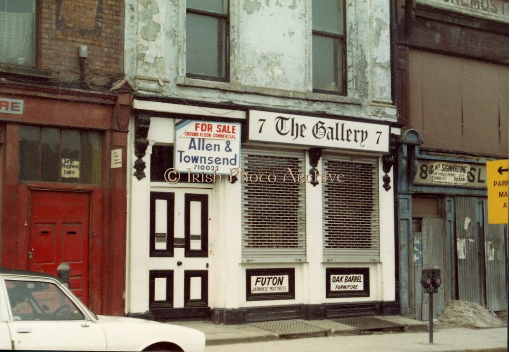 Old Dublin Amature Photos May 1983 WITH, Kavanagh's Pub, Dorset St, Shop Front, Aston Quay, Halfpenny Bridge, Merchants Arch, The Gallery, Old amateur photos of Dublin streets churches, cars, lanes, roads, shops schools, hospitals
