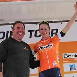 01-09-2017: Wielrennen: Boels Ladies Tour: Weert: Annemiek van Vleuten blijft aan de leiding van het klassement.