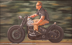 Passion Built exhibition artwork in the Buffalo Chip's Motorcycles as Art gallery during the 78th annual Sturgis Motorcycle Rally. Sturgis, SD. USA. Thursday August 9, 2018. Photography ©2018 Michael Lichter.