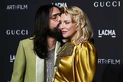 LOS ANGELES, CA, USA - NOVEMBER 03: 2018 LACMA Art + Film Gala held at the Los Angeles County Museum of Art on November 3, 2018 in Los Angeles, California, United States. 03 Nov 2018 Pictured: Alessandro Michele, Courtney Love. Photo credit: Xavier Collin/Image Press Agency/MEGA TheMegaAgency.com +1 888 505 6342