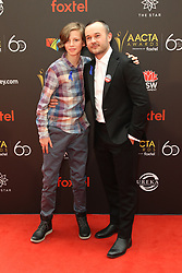Celebrities arrive on the red carpet for the Australian Academy Cinema Television Arts (AACTA) Awards at The Star, Pyrmont. 05 Dec 2018 Pictured: Ty Perham and Daniel Henshall. Photo credit: Richard Milnes / MEGA TheMegaAgency.com +1 888 505 6342