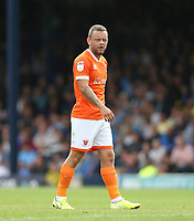 Blackpool's Jay Spearing<br /> <br /> Photographer Rob Newell/CameraSport<br /> <br /> The EFL Sky Bet Championship - Southend United v Blackpool - Saturday 10th August 2019 - Roots Hall - Southend<br /> <br /> World Copyright © 2019 CameraSport. All rights reserved. 43 Linden Ave. Countesthorpe. Leicester. England. LE8 5PG - Tel: +44 (0) 116 277 4147 - admin@camerasport.com - www.camerasport.com