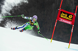 STUHEC Ilka of Slovenia competes during the 6th Ladies'  GiantSlalom at 55th Golden Fox - Maribor of Audi FIS Ski World Cup 2018/19, on February 1, 2019 in Pohorje, Maribor, Slovenia. Photo by Vid Ponikvar / Sportida