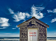 Lifeguard shack, Head of Meadow Beach, Truro, Cape Cod, MA