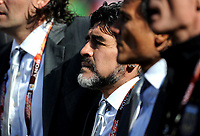 Diego Armando Maradona (Argentina) <br /> Argentina Corea del Sud 4-1 - Argentina vs South Korea 4-1<br /> Campionati del Mondo di Calcio Sudafrica 2010 - World Cup South Africa 2010<br /> Soccer Stadium, Johannesburg, 17 / 06 / 2010<br /> © Giorgio Perottino / Insidefoto