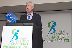 .The Irish Society of Chartered Physiotherapists, in conjunction with Chartered Society of Physiotherapy, Northern Ireland, presents the 29th Annual Conference. .Innovation: Ideas into Action.Physiotherapy in a challenging environment. .CROKE PARK CONFERENCE CENTRE, DUBLIN 1.Fri 16 - Sat 17 November 2012. . .The Conference was opened by the Minister for Primary Care at the Department of Health, Mr Alex White TD at 9am on Friday morning...Picture at the conference;.Minister for Primary Care at the Department of Health, Mr Alex White TD. .Conference 2012: New Technology and Research unveiled.Innovate: Ideas into Action - Physiotherapy in a Challenging Environment. .A NEW era will open up with the extension of statutory registration to physiotherapy and the increase in levels of care to be delivered  by Primary Care centres, the Minister of State for Primary Care, Mr Alex White TD said today ...Opening the 29th Annual Conference of the Irish Society of Chartered Physiotherapists the Minister noted that up to 95 per cent of people's healthcare needs can be met in the primary care setting. This, he said, would be achieved by the collaboration of inter-disciplinary teams including Chartered Physiotherapists...The roll-out of primary care is an important development in healthcare in Ireland as the country moves to deal with its own share of the growing range of chronic conditions that require long-term management. This year's conference will focus on the real differences that new approaches to providing healthcare will make to patients' lives.. .Reducing waiting times.International expert, Dr Katie Lundon will demonstrate the impact that advanced practice physiotherapists are making in treating patients with arthritis in Canada; as these posts are now being rolled out in Ireland, the conference will consider the potential impact of these posts for Irish healthcare..While success in meeting the task of embedding these systems across healthcare management and administration