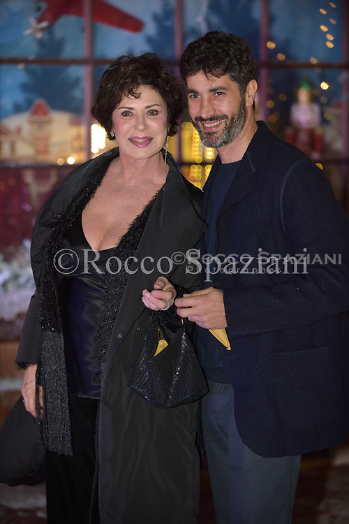 Corinne Clery, Angelo Costabile Super Vacanze di Natale premiere, Red carpet, Rome, Italy - 12 Dec 2017