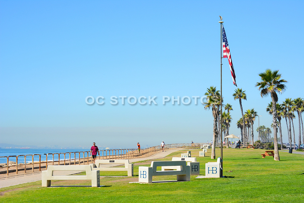 Patriot Point in Huntington Beach Between the Ocean and Pacific Coast Highway