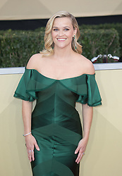 January 21, 2018 - Los Angeles, California, U.S - REESE WITHERSPOON on the red carpet for the 24th Annual Screen Actors Guild Awards held at the Shrine Auditorium. (Credit Image: © Prensa Internacional via ZUMA Wire)