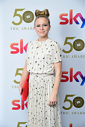 Kellie Bright attending the TRIC Awards 2019 50th Birthday Celebration held at the Grosvenor House Hotel, London.