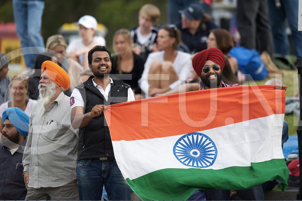 MELBOURNE - Champions Trophy men 2012<br /> India v Belgium 1-0<br /> foto: India fans<br /> FFU PRESS AGENCY COPYRIGHT FRANK UIJLENBROEK