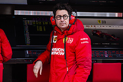 February 18, 2019 - Barcelona, Barcelona, Spain - Mattia Binotto Team Chief Scuderia Ferrari Mission Winnow SF90 portrait during the Formula 1 2019 Pre-Season Tests at Circuit de Barcelona - Catalunya in Montmelo, Spain on February 18, 2019. (Credit Image: © Xavier Bonilla/NurPhoto via ZUMA Press)