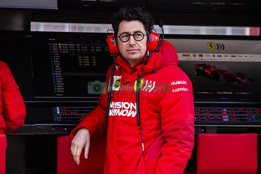 February 18, 2019 - Barcelona, Barcelona, Spain - Mattia Binotto Team Chief Scuderia Ferrari Mission Winnow SF90 portrait during the Formula 1 2019 Pre-Season Tests at Circuit de Barcelona - Catalunya in Montmelo, Spain on February 18, 2019. (Credit Image: © Xavier Bonilla/NurPhoto via ZUMA Press)