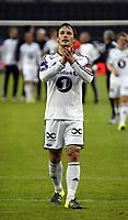 Fotball <br /> UEFA Europa League Qualification<br /> 23.07.2015<br /> Rosenborg v KR Reykjavik<br /> Foto: Tor Inge Langberg/Digitalsport<br /> <br /> RBK jubler for avansement<br /> Mike Jensen