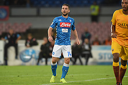 October 28, 2018 - Naples, Naples, Italy - Dries Mertens of SSC Napoli during the Serie A TIM match between SSC Napoli and AS Roma at Stadio San Paolo Naples Italy on 28 October 2018. (Credit Image: © Franco Romano/NurPhoto via ZUMA Press)