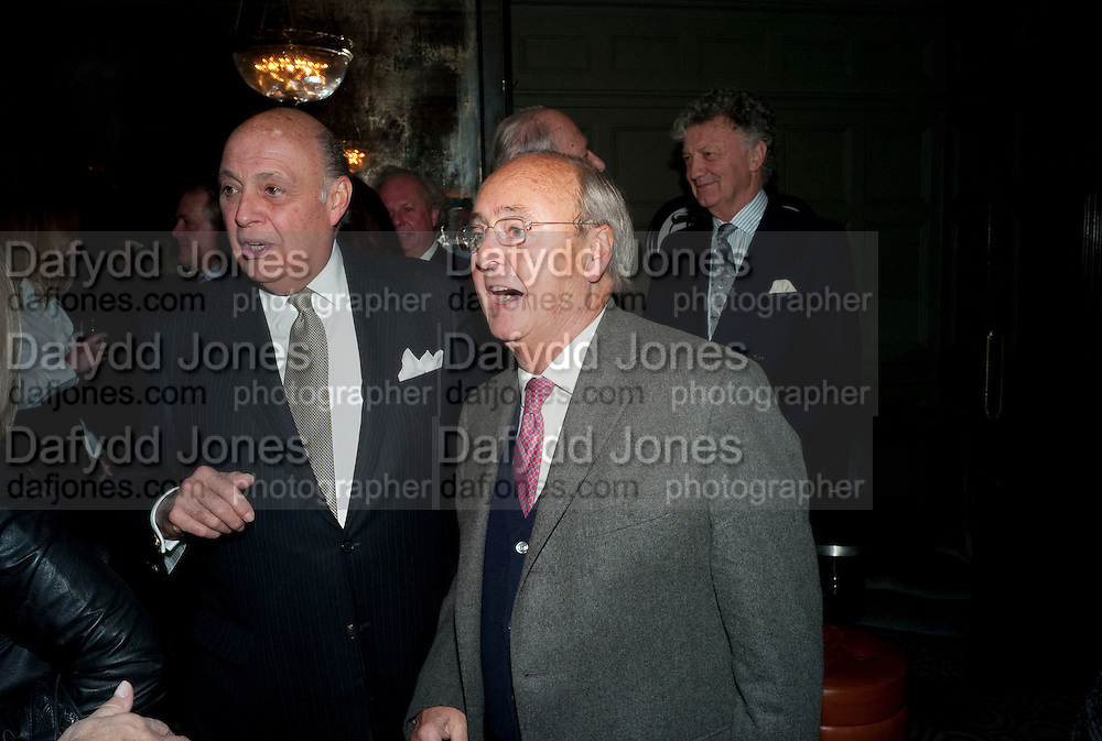 REINALDO HERRERA; NED RYAN, Graydon and Anna Carter host a lunch for Carolina Herrera to celebrate the ipening of her new shop on Mount St. .The Connaught. London. 20 January 2010