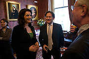 NIGELLA LAWSON AND NIGEL LAWSON, Book launch for AN APPEAL TO REASON, A Cool Look at Global Warming by Nigel Lawson. Hosted by NIGELLA LAWSON, DUCKWORTH PUBLISHERS and ED VICTOR LTD.<br />