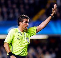 Photo: Alan Crowhurst.<br />Chelsea v FC Porto. UEFA Champions League. Last 16, 2nd Leg. 06/03/2007. Referee Roberto Rosetti.