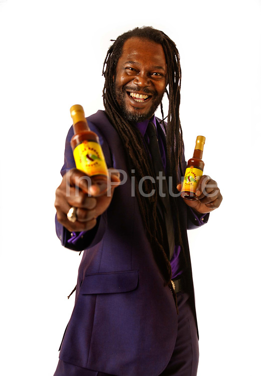 """Keith Valentine Graham (born 24 June 1958), better known as Levi Roots, is a British-Jamaican reggae musician, television personality, celebrity chef, businessman and multi-millionaire currently residing in Brixton, South London. He gained widespread fame after appearing on the UK television programme Dragons' Den, where he gained £50,000 funding for his Reggae Reggae Sauce.<br /> <br /> Levi, on Dragons' Den, originally said he developed and refined the sauce over many years, basing it on his grandmother Miriam Small's jerk chicken. This he now admits was false and used just as a marketing stratagy having invented the recipe himself. However, the origin of the recipe has been disputed by Tony Bailey, who runs a tiny West Indian takeaway in Brixton, South London; """"The recipe is mine. People round here know, but we don't say.""""<br /> <br /> Mr Bailey also filed a claim in the High Court for more than £300,000 claiming that, as the inventor of the sauce, he was entitled to a share of profits."""