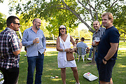 Happenings during the registration session of the 2018 FNB Wines2Whales Chardonnay 3 day mountain bike event from Lourensford to Oak Valley. Image by Greg Beadle