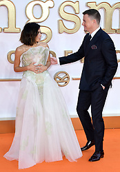 Channing Tatum and Jenna Dewan attending the Kingsman: The Golden Circle World Premiere held at Odeon and Cineworld Cinemas, Leicester Square, London. Picture date: Monday 18th September 2017. Photo credit should read: Doug Peters/Empics Entertainment