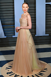Kate Bosworth arriving at the Vanity Fair Oscar Party held in Beverly Hills, Los Angeles, USA.