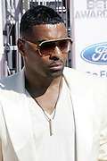June 30, 2012-Los Angeles, CA : Recording Artist Ginuwine attends the 2012 BET Awards held at the Shrine Auditorium on July 1, 2012 in Los Angeles. The BET Awards were established in 2001 by the Black Entertainment Television network to celebrate African Americans and other minorities in music, acting, sports, and other fields of entertainment over the past year. The awards are presented annually, and they are broadcast live on BET. (Photo by Terrence Jennings)