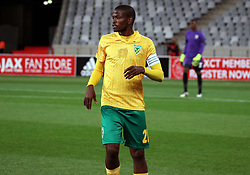 ….. in action for Ajax Cape Town in the match between Ajax Cape Town and Golden Arrows at the Cape Town Stadium on Saturday, August 19, 2017.