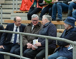 Scottish Government Cabinet Secretary for Rural Affairs Fergus Ewing MSP met farmers ahead of the Brexit deadline on a visit to the cattle sales in Stirling.<br /> <br /> © Dave Johnston / EEm