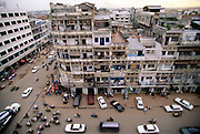 Downtown Phnom Penh, Cambodia. Image from the book project Man Eating Bugs: The Art and Science of Eating Insects.