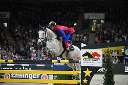 Hassmann Felix, (GER), SL Brazonado<br /> Speed and handiness competition with costumes<br /> Stuttgart - German Masters 2015<br /> © Hippo Foto - Stefan Lafrentz