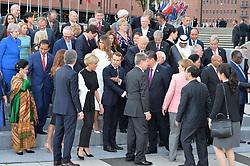 July 7, 2017 - Hamburg, Germany - Family Photo.G20 SUMMIT: Reception and concert at Elbphilharmonie, Hamburg, Germany - 07 Jul 2017.Credit: Timm/face to face (Credit Image: © face to face via ZUMA Press)